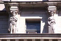 Caryatids representing the seasons by Thomas Shields Clarke, Appellate Division Courthouse of New York State, NYC