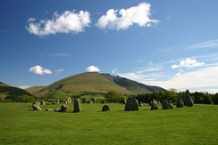 The Castlerigg stone circle dates from the late Neolithic age and was constructed by some of the earliest inhabitants of Cumbria