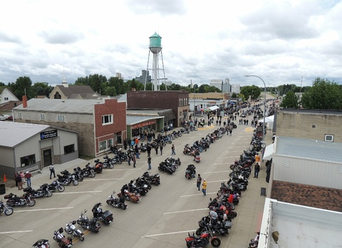 The Annual Cavalier Motorcycle Ride In