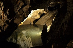A cave at the Matka Canyon.