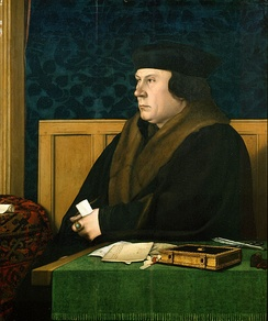 Thomas Cromwell in 1532 or 1533