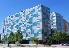 Vallecas, historically known for being a district of popular class, and in the recent years of high number of immigrants.