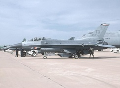 General Dynamics F-16C Block 30, AF Serial No. 85-1412 of the 301st Fighter Wing (AFRC), NAS Fort Worth JRB, Carswell Field, Texas
