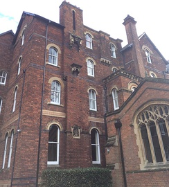 The original part of Wycliffe Hall - 54 Banbury Road, 'Laleham'