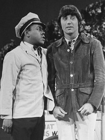 Flip Wilson and Namath in 1972 on The Flip Wilson Show