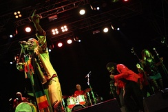 Jimmy Cliff performing in Bildein, Austria, 2012