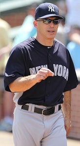 Joe Girardi was a Yankees catcher before he became manager in 2008.