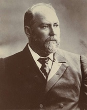 Sir John Forrest, the first Premier of Western Australia, who served from 1890 to 1901.