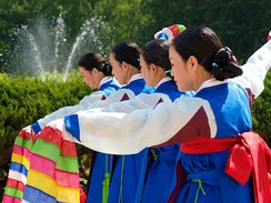 Traditional Korean dance (Jinju geommu)