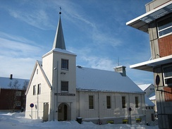 Hammerfest Methodist Church in Norway was the world's most northerly Methodist congregation when established in 1890.[115]