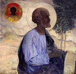 Апостол Матфей, фрагмент Образа Царских врат, 2013 год