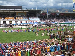 2006 Naadam ceremony at the National Sports Stadium