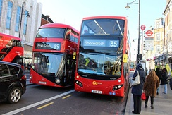 London Bus Routes 35 and 59