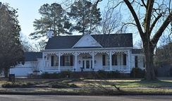 Edward C. Walthall House in Grenada, Mississippi in 2019