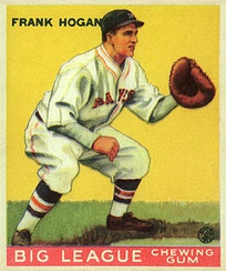 "Frank ""Shanty"" Hogan won a CCBL championship with Osterville in 1924 and went on to a 13-year MLB career with the Boston Braves, New York Giants and Washington Senators."