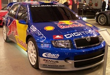 World Rally Championship Red Bull Car