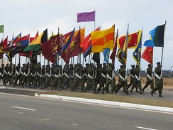 Sri Lanka Army flags