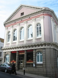 The States building in St. Helier