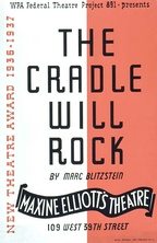 Original poster for Project #891's production of The Cradle Will Rock