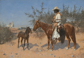 The Sentinel, 1889, Oil on canvas, Sid Richardson Museum