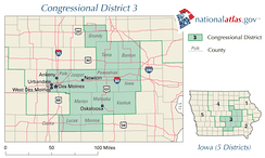 United States House of Representatives, Iowa District 3 map.png