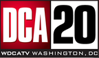 "Logo as ""DCA 20"" following the CW announcement, January to May 2006."