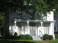 Bryan's birthplace in Salem, Illinois