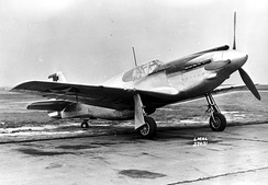 XP-51 41-039, one of two Mustang Mk Is handed over to the USAAC for testing
