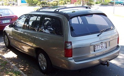 2001-2002 Holden Commodore (VX II) Executive station wagon