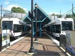 The Tonnelle Avenue Light Rail station
