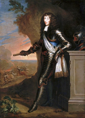 Louis de Bourbon, Prince de Condé, was the premier prince du sang during his lifetime (painted by Joost van Egmont).