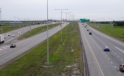 The Anthony Henday Drive ring road in Edmonton