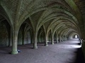 Vaulted cellarium used as food storage