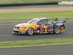 Will Davison at the 2016 Red Rooster Sydney SuperSprint