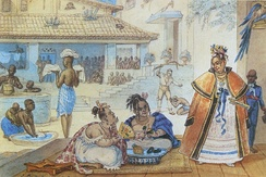 House slaves in Brazil c. 1820, by Jean-Baptiste Debret