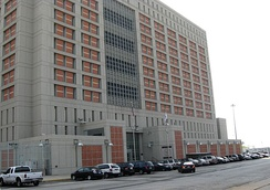 Metropolitan Detention Center, Brooklyn, where Sharpton was imprisoned