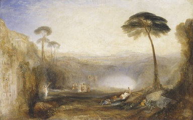 J. M. W. Turner's painting of the Golden Bough incident in the Aeneid