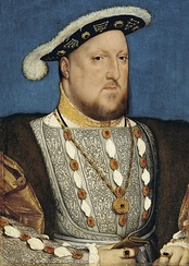 King Henry VIII of England by Hans Holbein the Younger. Thyssen-Bornemisza Museum, Madrid.