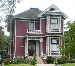 The Victorian building filmed as the Halliwell Manor is located at Carroll Avenue in Los Angeles, California. In the series, the fictional manor is set in San Francisco.