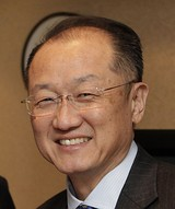 Jim Yong Kim, class of 1982, President of the World Bank, emeritus president of Dartmouth College, and first Asian-American president of an Ivy League institution