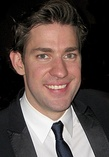 John Krasinski (left) and Jenna Fischer (right) were cast as Jim and Pam.