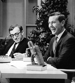 Woody Allen on The Tonight Show with Johnny Carson in 1964