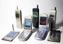 Personal Handy-phone System mobiles and modems, 1997–2003