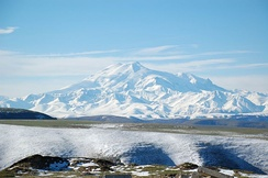 Mount Elbrus in Russia is the highest mountain in Europe.