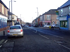Stanhope Street in Arthur's Hill area is home to the North East's largest Asian community.