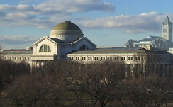 The museum as seen from the National Mall