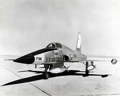 The first Northrop YF-5A prototype