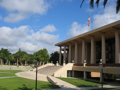 Oviatt Library in 2009.