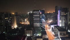Night view of Paltan area