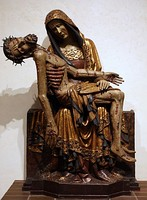 Late Gothic Pietà from Lubiąż in Lower Silesia, Poland, now in National Museum in Warsaw